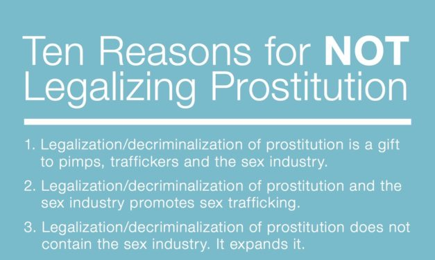 10 Reasons for not legalizing prostitution — COALITiON AGAINST TRAFFICKING INWOMEN