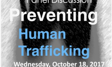 EUROPEAN ANTI-TRAFFICKING DAY PreventinG Human Trafficking — Geneva, Palais des Nations, Room XXIII — Wednesday, October 18, 2017