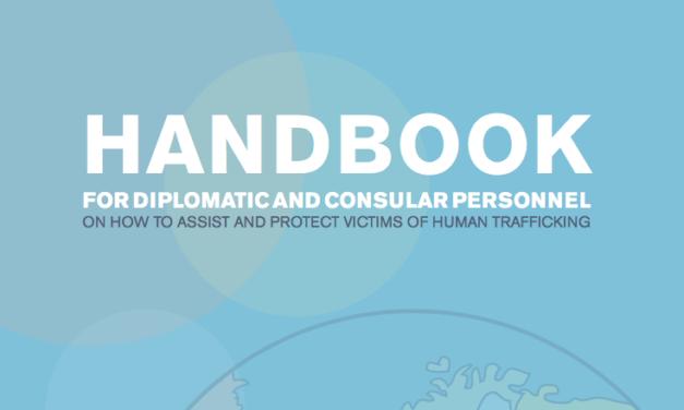 Handbook for Diplomats — HUMAN TRAFFICKING