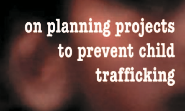 Manuel Terre des Hommes — A handbook on planning projects to prevent child trafficking
