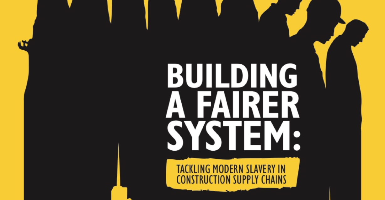 CIOB – Tackling moderne slavery in construction supply chains