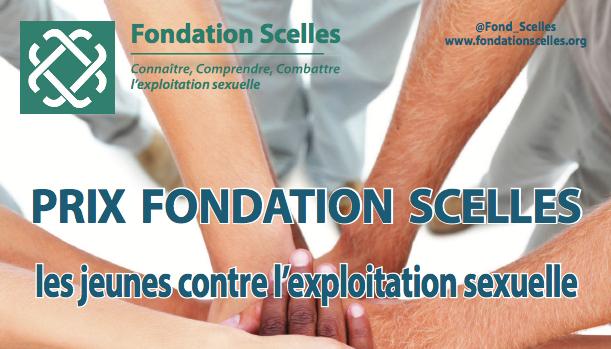 Prix 2017 Fondation Scelles – Les jeunes contre l'exploitation sexuelle