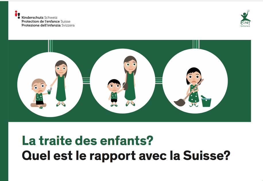 La traite des enfants? Quel est le rapport avec la Suisse?