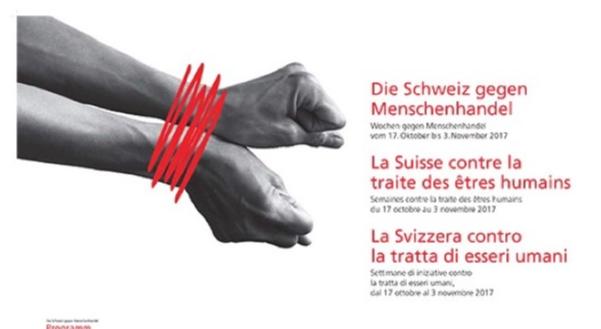 18 octobre — La Suisse contre la traite des êtres humains
