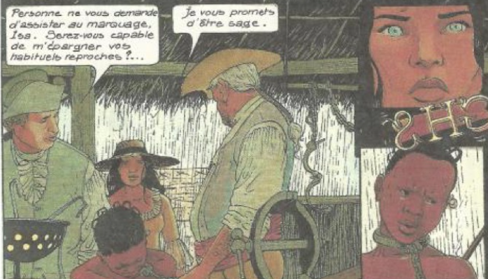 """La traite négrière à partir d'une BD : """"Les passagers du vent – François Bourgeon"""""""