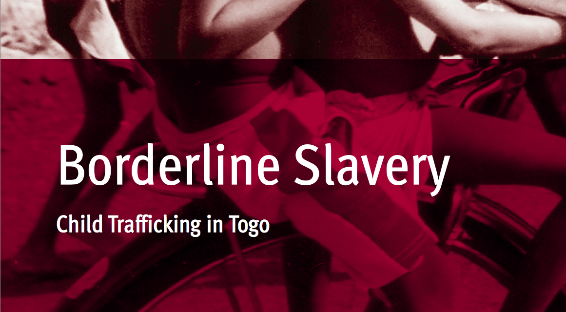 HUMAN RIGHTS WATCH – Borderline Slavery – Child Trafficking in Togo