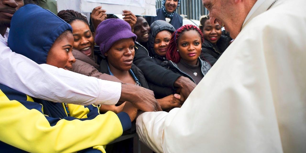 Pope appeals for joint action to contrast human trafficking