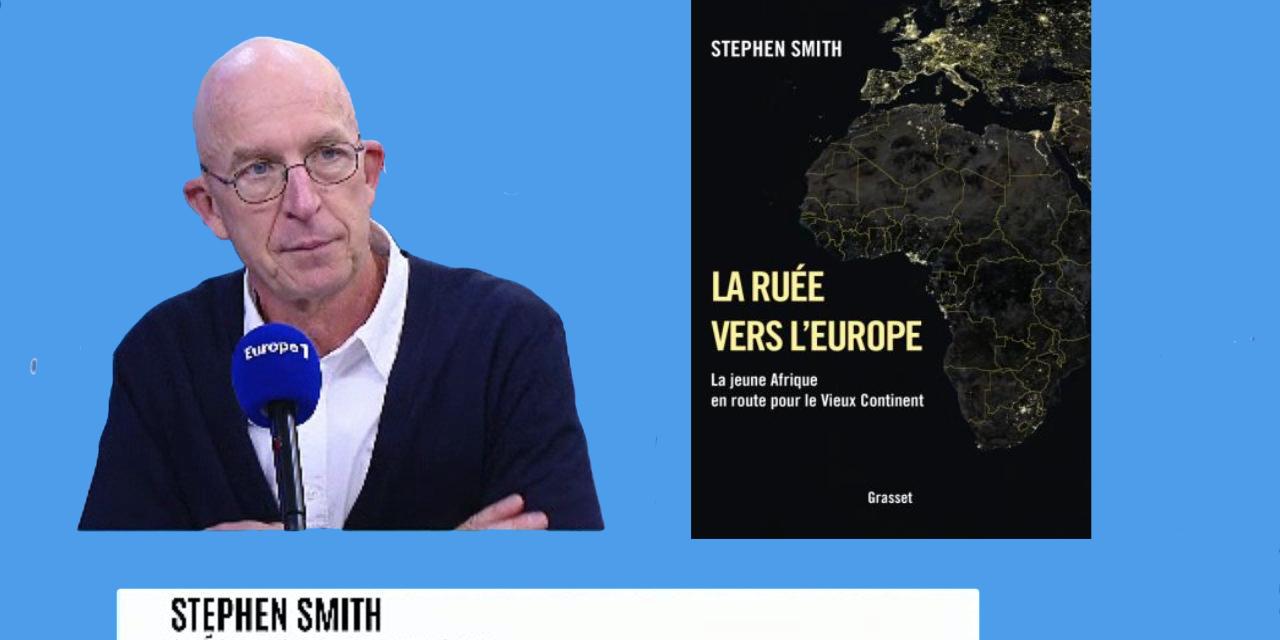 LE POINT AFRIQUE – Que dit Stephen Smith, spécialiste de l'Afrique, des migrations vers l'Europe ? Sa principale thèse : le développement économique du continent les alimente.