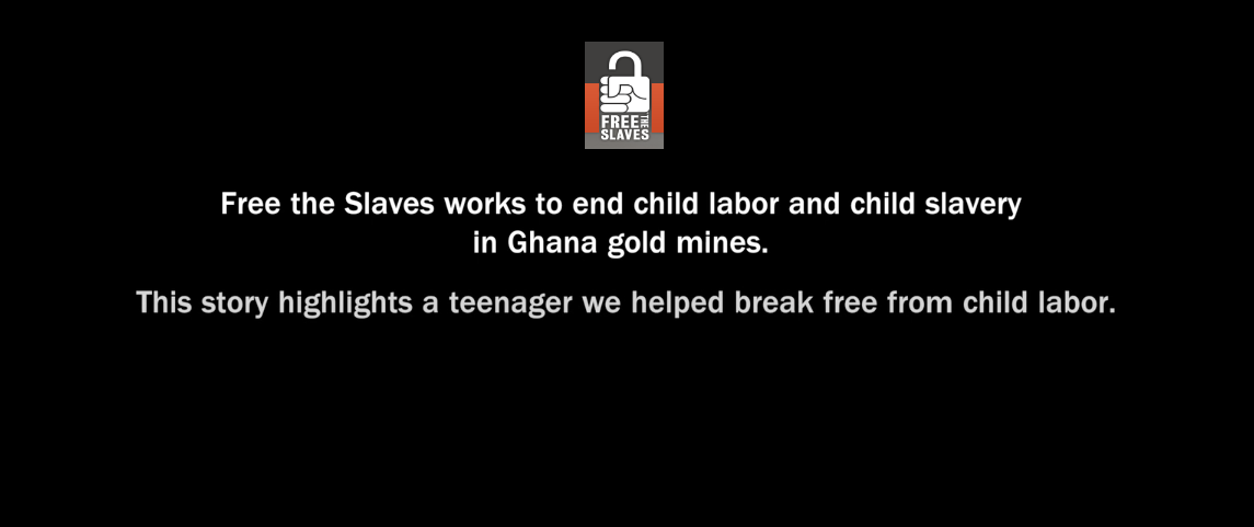 "FREE THE SLAVES: Video ""Children of the Mines"""
