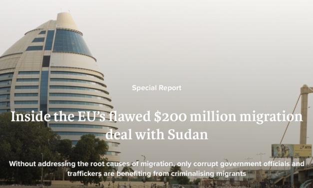 IRIN — Inside the EU's flawed $200 million migration deal withSudan