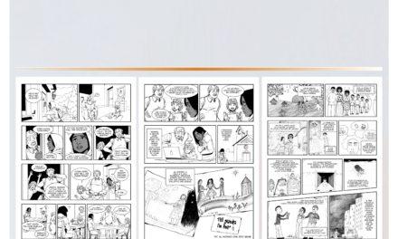 """8 febbraio, Giornata Mondiale di Preghiera contro la Tratta : Fumetto realizzato dal gruppo di giovani che ha partecipato al laboratorio """"Messaggiamo Migrazioni e Tratta"""""""