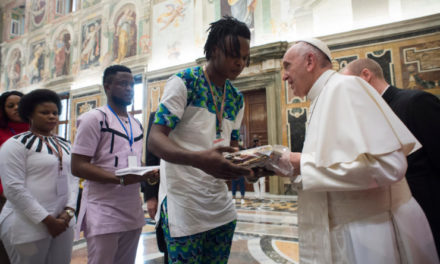 12th Feb. 2018 : Human Trafficking – Survivors Meet Pope Francis