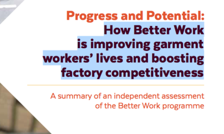 How Better Work is improving garment workers' lives and boosting factory competitiveness