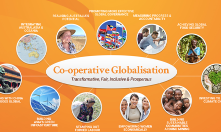 AUSTRALIA – THE GLOBAL FOUNDATION – Together we strive for the global common good