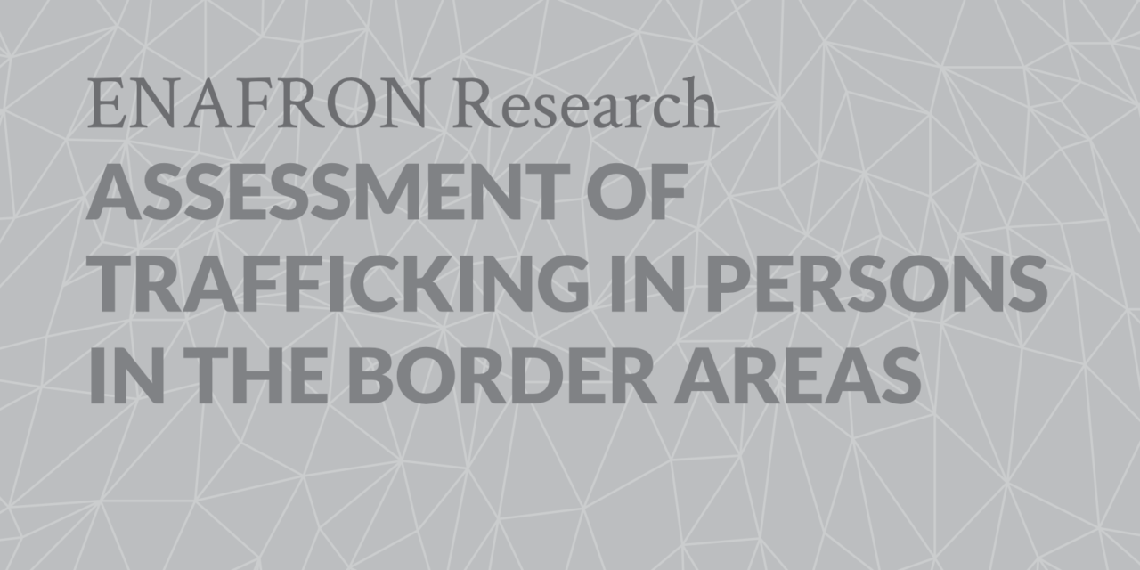 BRAZIL SECRETARIA DE JUSTICIA — ASSESSMENT OF TRAFFICKING IN PERSONS IN THE BORDER AREAS