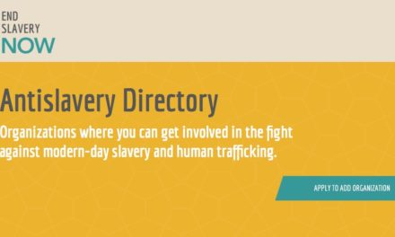 END SLAVERY NOW — Antislavery Directory — Organizations where you can get involved in the fight against modern-day slavery and human trafficking