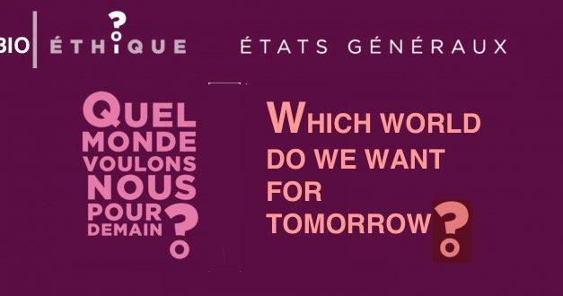 01.- Therapie germinale / Germinal Therapy — CHURCH OF FRANCE — États généraux de la bioéthique — Which world do we want for tomorrow? The brave newworld…
