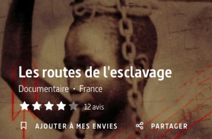 """Arte – HISTOIRE / Les routes de l'esclavage : Domination, violence, profit : le système criminel de l'esclavage a marqué l'histoire du monde et de l'humanité. Au fil de ses routes, la série """"Les routes de l'esclvage"""" retrace pour la première fois la tragédie des traites négrières. Captivant et implacable"""