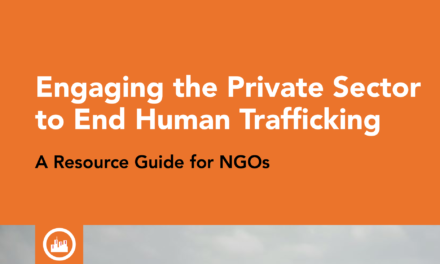 SOMO — Engaging the Private Sector to End Human Trafficking A Resource Guide for NGOs