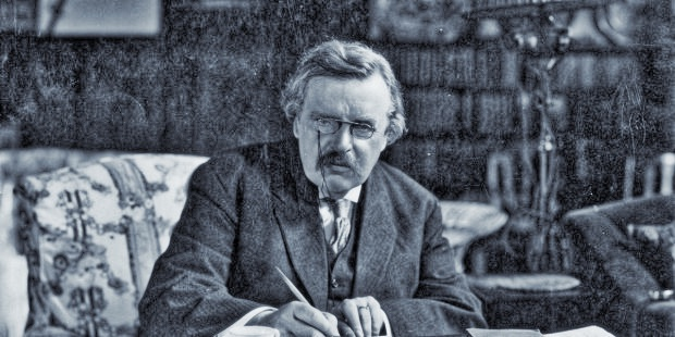 ALETEIA — 20 quotes from Chesterton to help you find reason in this senseless world / 20 citations de Chesterton pour vous aider à retrouver la raison dans ce monde insensé