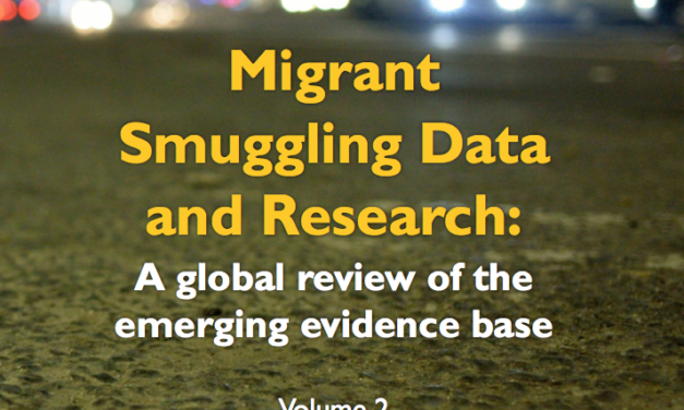 OIM – Migrant Smuggling Data and Research: A global review of the emerging evidence base Volume 2 – 2018