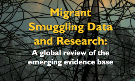OIM — Migrant Smuggling Data and Research: A global review of the emerging evidence base VOLUME 1 — 2016