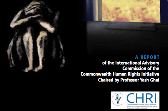 The Commonwealth Human Rights Initiative (CHRI): Commonwealth Human Rights Initiative Creating an Effective Coalition to Achieve Sdg 8.7