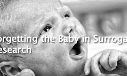 "The Center for Bioethics and Culture: ""Myth-Busting"" or Misguided? Forgetting the Baby in Surrogacy Research"