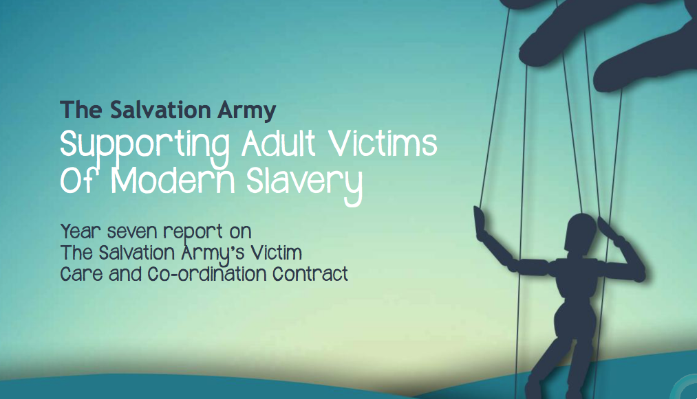THE SALVATION ARMY UK — REPORT: SUPPORTING MORERN VICTIMS OF MODERN SLAVERY
