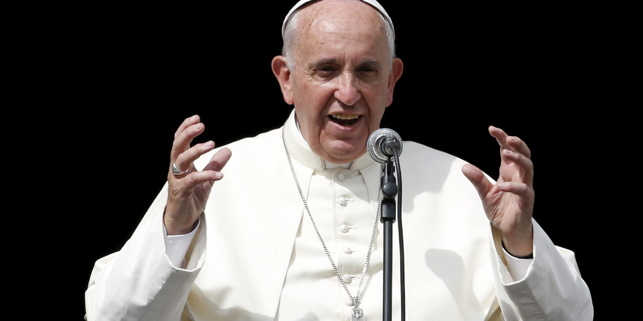 Geneva 30 July 2018 — Pope Francis Says it is the Responsibility of All to Oppose Human Trafficking