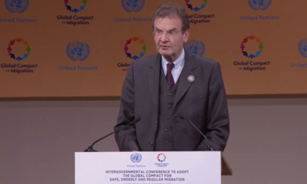 """Respect for the dignity of migrants and religious freedom must be a priority for all actors"" – OM Grand Chancellor Albrecht von Boeselager's Intervention at Marrakech Summit on Global Compact for Migration / 11 Dec. 2018"