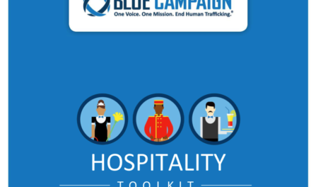 USA — BLUE CAMPAIGN — HOSPITALITY TOOLKIT