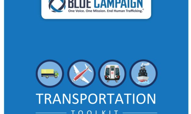 USA – BLUE CAMPAIGN – TRANSPORTATION TOOLKIT