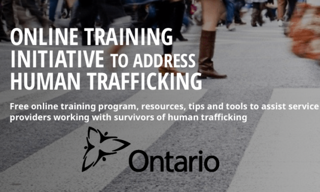 ONTARIO — OFFICE OF THE ATTORNEY GENERAL — ENGLISH / FRENCH ONLINE TRAINING INITIATIVE TO ADDRESS HUMAN TRAFFICKING: free online course