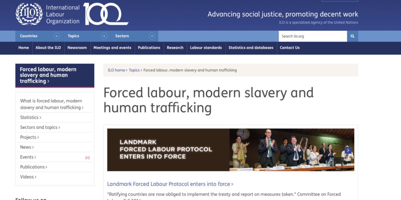 ILO — Ireland joins efforts to combat forced labour