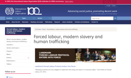 ILO – Ireland joins efforts to combat forced labour