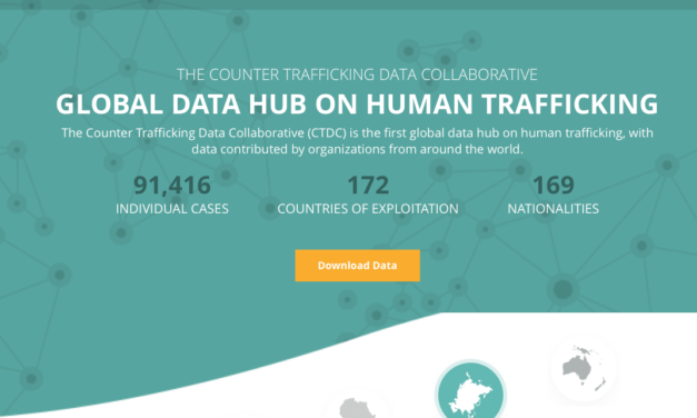 The Counter Trafficking Data Collaborative (CTDC) is the first global data hub on human trafficking, with data contributed by organizations from around the world