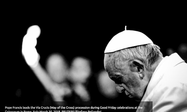 THOMSON REUTERS – Pope's Good Friday service focuses on sex trafficked girls