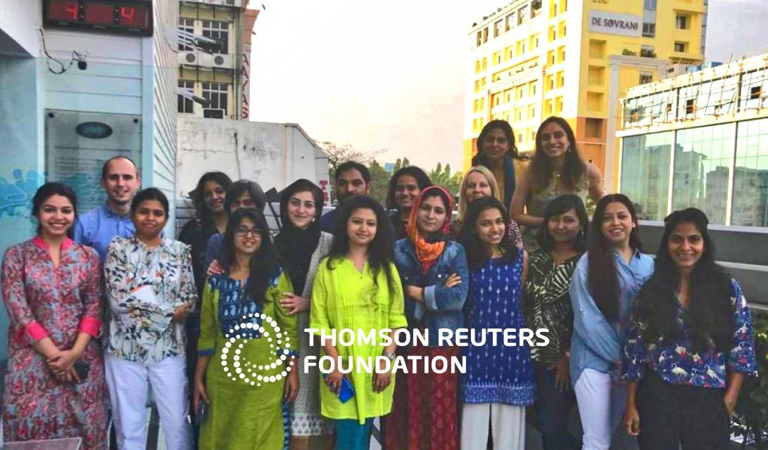 THOMSON REUTERS – Training course for journalists held in Kolkata as India strives to crack down on bonded labour and trafficking