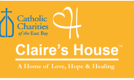 US — CALIFORNIA: CATHOLIC CHARITIES OF THE BAY — Claire's House is not an alternative to jail, not an emergency shelter, not a drop-off site, and not a crisis center. It's a home.