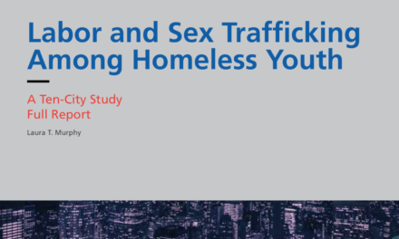 LOYOLA UNIVERSITY – This study provides a detailed account of labor and sexual exploitation experienced by homeless youth in Covenant House's care in ten cities