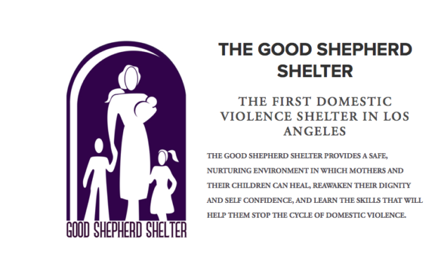 US – THE GOOD SHEPHERD SHELTER  – THE FIRST DOMESTIC VIOLENCE SHELTER IN LOS ANGELES