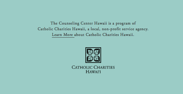 US —  THE COUNSELING CENTER HAWAII — THE CATHOLIC CHARITIES HAWAÏ