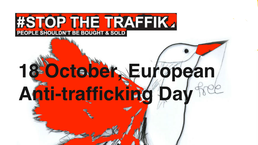 18 October 2019, European  Anti-trafficking Day