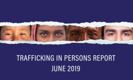 U.S. Department of State Human Trafficking Heroes 2019 & Trafficking in Persons Report JUNE 2019