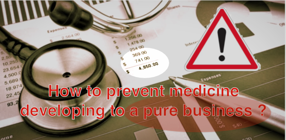 Doctor Bernhard Egger: An ethical measure to prevent medicine developing to a pure business — FORUM ENGELBERG — Geneva 25th June2019