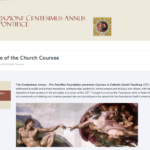 SOCIAL DOCTRINE OF THE CATHOLIC CHURCH COURSE (year 2019) at the Istituto Maria SS. Bambina in Rome — Course of the Centesimus Annus Pro Pontifice Foundation