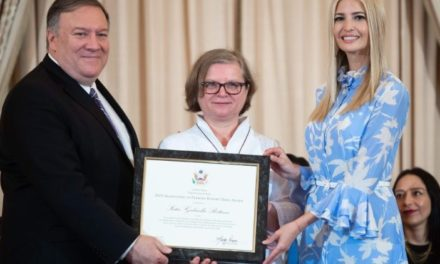 U.S. Department of State HT Heroes 2019: Soeur Bottani récompensée pour son combat contre la traite / Sister Bottani rewarded for her fight against trafficking