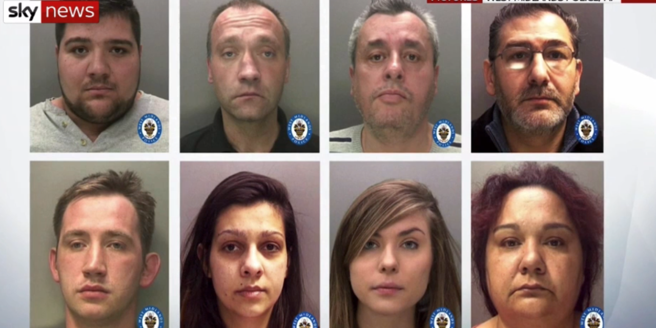 UK Friday 9 August 2019 — Dozens of arrests as police rescue trafficking victims