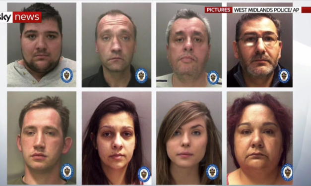 UK Friday 9 August 2019 – Dozens of arrests as police rescue trafficking victims